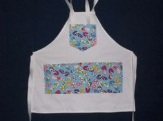 Flip Flops Apron made by Fried Green Aprons