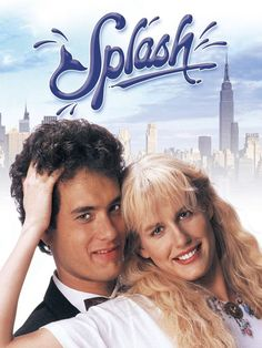 "Tom Hanks & Daryl Hannah in ""Splash"" Imdb Movies, Top Movies, Disney Movies, Comedy Movies, 1984 Movie, We Movie, Tom Hanks Best Movies, Hd Movie Posters, Splash Movie"