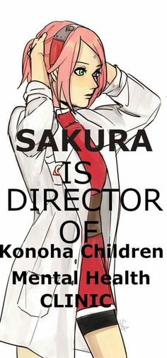 Sakura Uchiha opened a Clinic to help children without parents, just like Sasuke was ♥♥♥ #Love #Couple #Family #SasuSaku #Powerful #Suffering #Care #Medic
