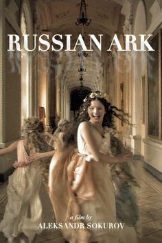El Arca Rusa (2002). Una obra contemporanea de Alexander Sokurov que destaca por ser la primera pelicula comercial sin editar ya que se hizo con una sola toma de 90 min de una sola vez en un día y grabado en un disco duro.
