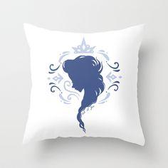 Let It Go Throw Pillow by lunalalonde - $20.00 Disney Frozen Elsa