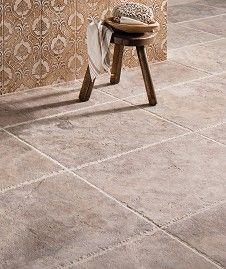 Aurelius™Grey Travertine Brushed (40.6x40.6cm) Tile