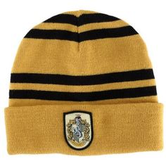 28b911f3faf Amazon.com  Gryffindor House Beanie Costume Accessory  Sports Fan Beanies   Clothing. Hufflepuff PrideRavenclawHufflepuff MerchandiseHarry Potter  HatHarry ...