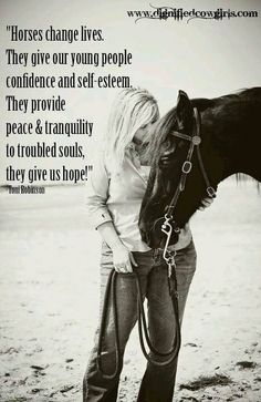 horses; confidence, peace and hope <3