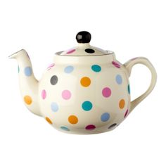 Spotty 6-Cup Filter Teapot | Teapot | China Teapots | Novelty Teapots | Whittard of Chelsea