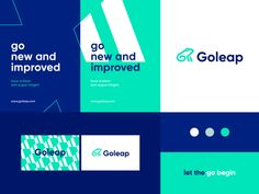 Goleap - identity system designed by Ahmed creatives. Connect with them on Dribbble; the global community for designers and creative professionals. Corporate Identity, Visual Identity, Corporate Design, Brand Identity Design, Branding Design, Logo Branding, Logos, Plakat Design, Presentation Design