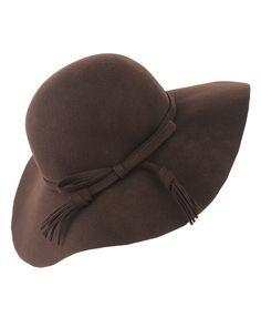 Look 1: Fringe Bow Floppy Hat / F21 $19.80