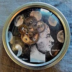 Assemblage by Bonnie Anne Rapkin, photo courtesy of Art from Scrap Gallery. Bonnie & Friends, a Retrospective Exhibition, takes place at the gallery from 3/17-4/23. http://sbseasons.com/2017/03/bonnie-and-friends-a-retrospective-exhibition/ #sbseasons #sb #santabarbara #SBSeasonsMagazine #ArtFromScrap #SBArt #SBnonprofits #BonnieandFriends #BonnieAnneRapkin  To subscribe visit sbseasons.com/subscribe.html