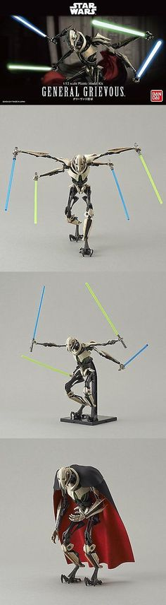 Star Wars 49212: Star Wars 1 12 General Grievous Model Kit Bandai Japan New *** -> BUY IT NOW ONLY: $44.79 on eBay!