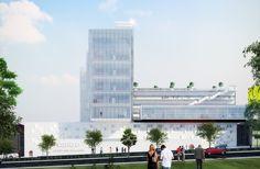 Galeria - TEN Arquitectos projeta novo campus da Universidade CENTRO na Cidade do México - 1