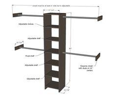 Common Closet Dimensions