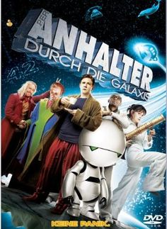 Per Anhalter durch die Galaxis  2005 USA,UK      Jetzt bei Amazon Kaufen Jetzt als Blu-ray oder DVD bei Amazon.de bestellen  IMDB Rating 6,7 (96.880)  Darsteller: Bill Bailey, Martin Freeman, Mos Def, Sam Rockwell, Zooey Deschanel,  Genre: Adventure, Comedy, Sci-Fi,  FSK: 6