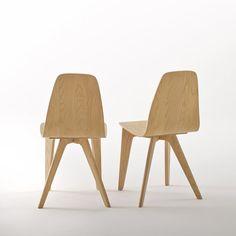 Design stoel Biface (set van 2)