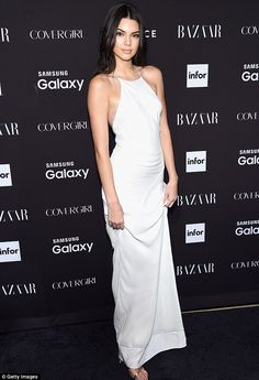 'I pray every night': Kendall Jenner, 20,revealed in a post to her website kendallj.com on Monday that she has a daily religious practice. She is pictured at a Harper's Bazaar event in September