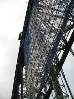 Sydney Harbour Bridge-----Looking up, if you have the time, this is a must in Sydney! Take the express climb (which is 2 1/4 hour) and is not that difficult at all. The staff will explain all the various pieces of equipment and what you will have to do while on the bridge.