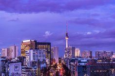 Berlin Skyline Foto von Soebart