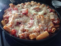 Fit Foodie: Adding Brinner to the menu! - Baked Caprese Pasta #recipe #cooking #menuplanning #fitfoodie #healthy #yummy http://nicolemichelles.com/2014/08/19/fit-foodie-adding-brinner-to-the-menu/