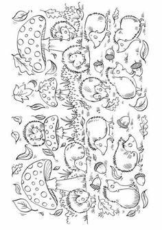 Tipss und Vorlagen autumn coloring pages autumn coloring pages for kids autumn coloring sheets for kids Fall Coloring Pages, Coloring Sheets For Kids, Animal Coloring Pages, Coloring Pages For Kids, Coloring Books, Kids Coloring, Autumn Crafts, Fall Crafts For Kids, Hedgehog Colors