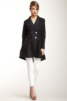L.A.M.B. Taffeta Trench Coat by Designers We Love on @HauteLook