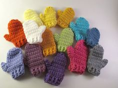 Mini mitten ornament gift topper your by SassySudburySisters