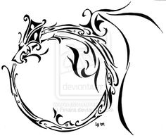 Delicate Ouroboros by Finaira.deviantart.com If you love this tattoo design - please give my shop a quick peek. savingscents.scentsy.co.uk I work hard to curate plenty of designs for your pinning pleasure!