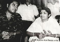 With Lata Mangeskar.