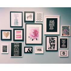 #REGRAM from the newest member of the mambi team @hannahjoyyyy // One of the walls in Hannah's office was made super cute by the likes of our #DIYgallerypads.   by meandmybigideas