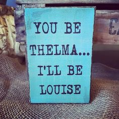 Funny 'Thelma and Louise' Canvas