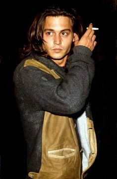 Johnny Depp Totally Not Posing. is listed (or ranked) 13 on the list 25 Pictures of Young Johnny Depp Young Johnny Depp, Here's Johnny, Johnny Depp Smoking, Johnny Depp Haircut, Johnny Depp Blow, Beautiful Boys, Gorgeous Men, Beautiful People, Hello Beautiful
