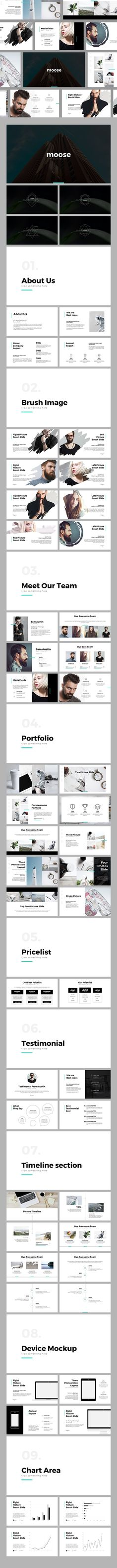 MOOSE - PowerPoint Template (PowerPoint Templates)