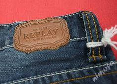NiMoFa CoLLeCtiOn: August 2010 Garra, Replay Jeans, Label Tag, Leather Label, Label Design, Patches, Buttons, Denim, Logos