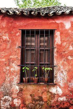 Janela, Um Olhar De Fora...Sacramento - Uruguai