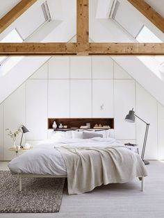 ideas for attic bedrooms. Contemporary Bedroom Design Ideas with full decorations for modern bedrooms  Check these Stunning 25 15 Charismatic Sloped Ceiling Bedrooms Attic