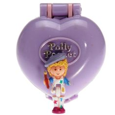 Polly Pocket Mini - 1991 - Pretty Picture Locket Bluebird Toys 931671