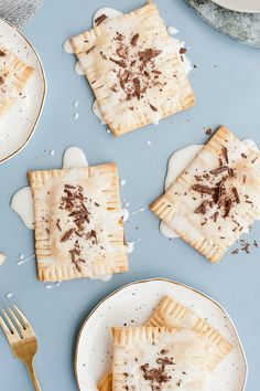 Decadent Drunken S'more Pop Tarts for Fall - Paper and Stitch