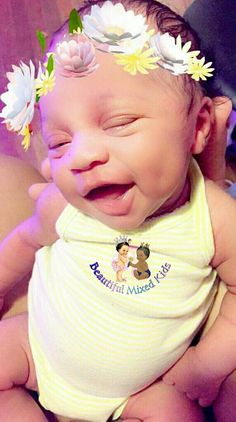 Leilani - 1 Month • African American & Puerto Rican ❤