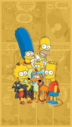 The Simpsons / Os Simpsons, Simpson Wallpaper Iphone, Cartoon Wallpaper, Disney Wallpaper, Tumblr Wallpaper, Wallpaper S, Wallpaper Backgrounds, Newspaper Wallpaper, The Simpsons, Simpson Tumblr