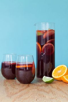Sangria: great use for leftover red wine. [[there is such a thing as leftover wine?]]