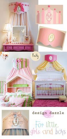 Would love to make a bed crown for the girls room