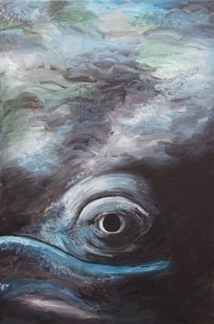 how to paint a whale eye - Google Search