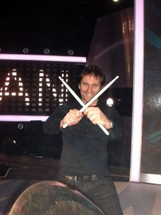 Duran Duran Drummer- Roger Taylor  - I was obsessed with the entire band, but Roger is and will always be my future Mr.. Ha!