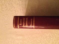 Vintage Book Radio Engineers' Handbook 1943 by by YouandVintage, $25.00