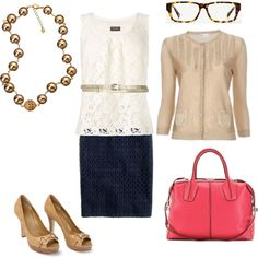 Wear to work, created by quasdorf on Polyvore