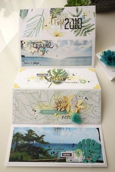 Sneak of spring Album Photo Scrapbooking, Free Digital Scrapbooking, Mini Scrapbook Albums, Scrapbooking Layouts, Crafty Projects, Diy Projects To Try, Mini Album Scrap, Diy Crafts For Girls, Project Life Cards