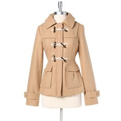Outerwear : Aland Hav Tan Coat by Tulle  -Ruche-