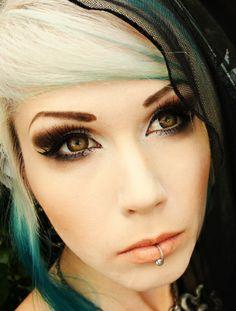 GEO Eyescream Vanilla Brown XMU-A14 Brown Contact Lenses, Brown Eyes, Geo, Vanilla