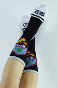 0499d779742 Pride Socks   Black. Jeslyani Blas · Crowns Guam