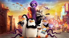 Penguins of Madagascar Movie Characters Kowalski Skipper Private Rico Dave Classified Corporal Short Fuse Eva 3840x2160