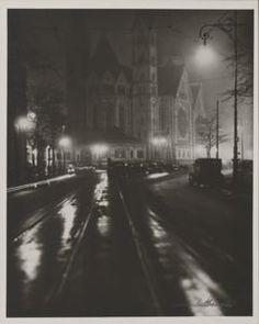 "Currier Collections Online - ""Kaiser Wilhelm Memorial Church, Berlin"" by Lotte Jacobi"
