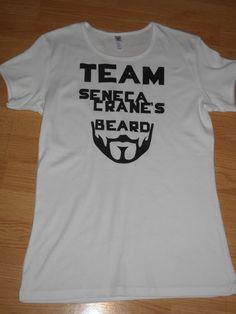 Team Peeta or Gale? Nah,Team Seneca Cranes Beard!  Team Seneca Cranes Beard  Hunger Games by SplendiferousShanty, $20.00 penguinlovegood